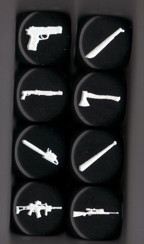 Set of 8 Weapon Dice