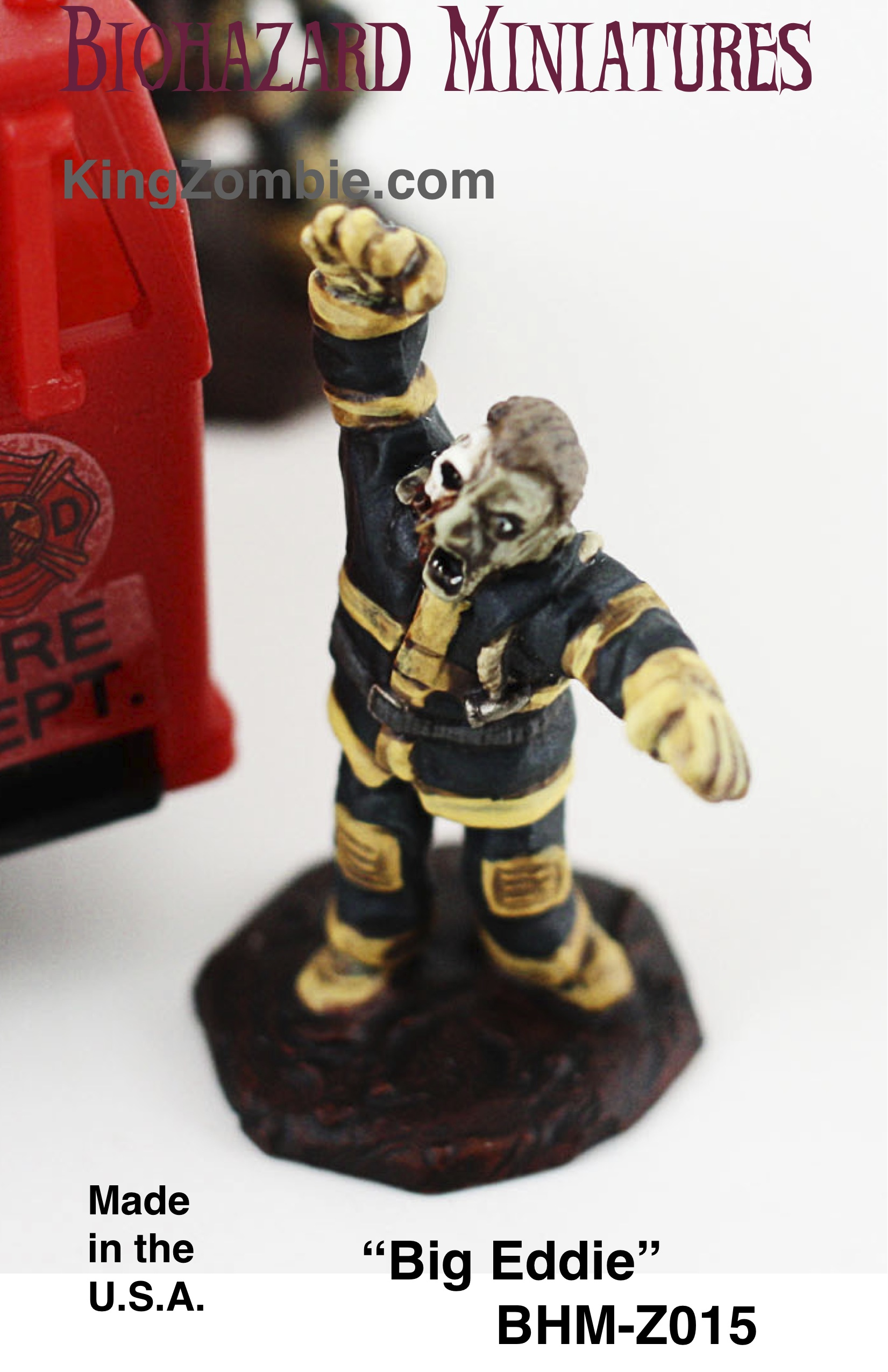 "Zombie Fire Fighter #2 ""Big Eddie"""